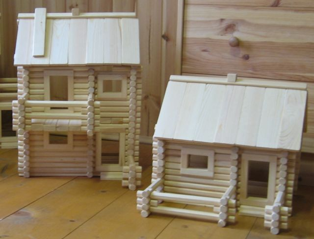 Как сделать домик своими руками из дерева чертежи