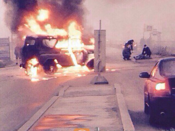 В Санкт-Петербурге расстреляли полицейский автомобиль, есть погибшие