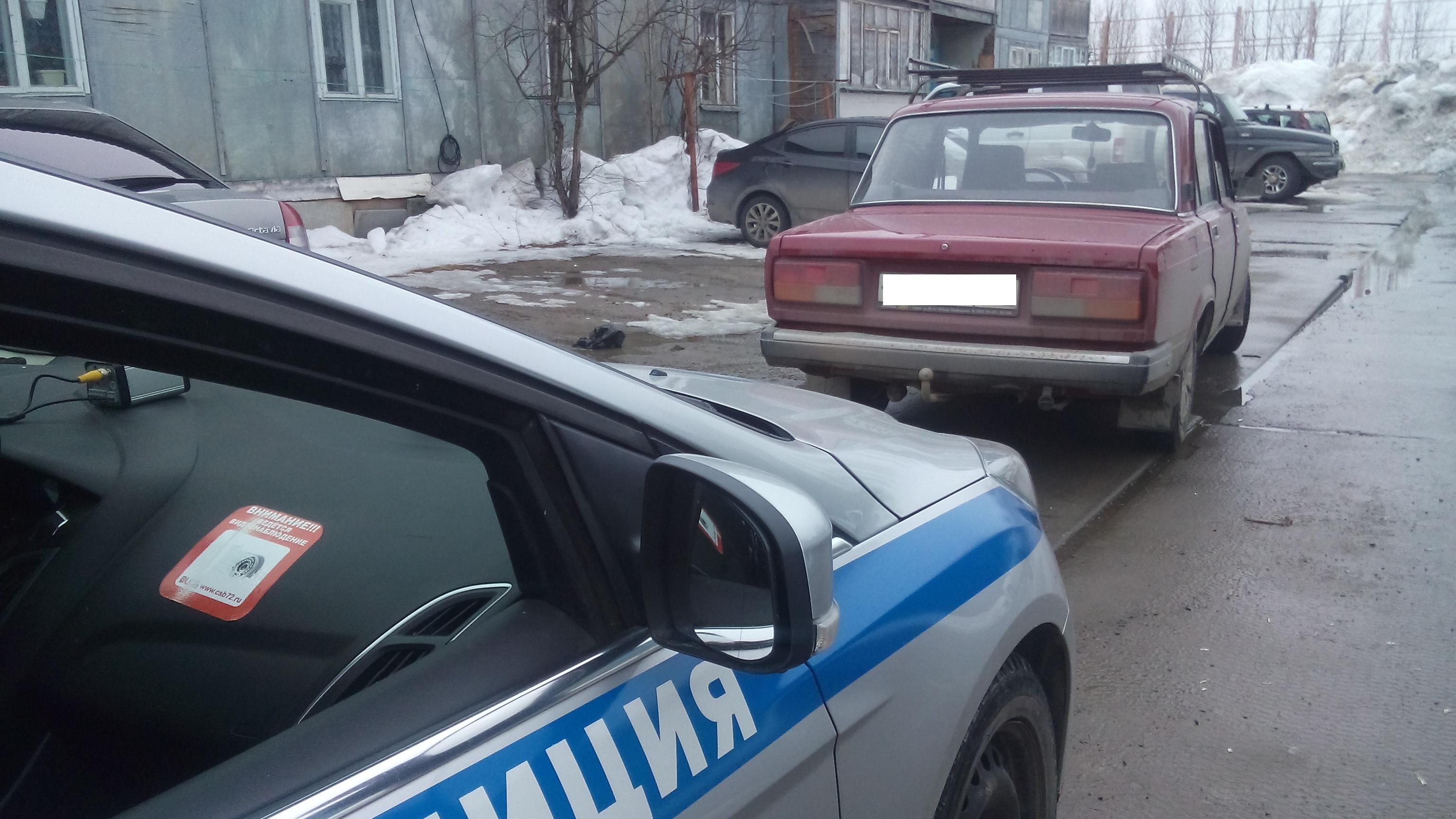 Подростки изСургутского района за некоторое количество дней угнали три автомобиля