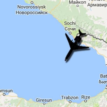 Разбившийся вСочи Ту-154 был перегружен на12 тонн