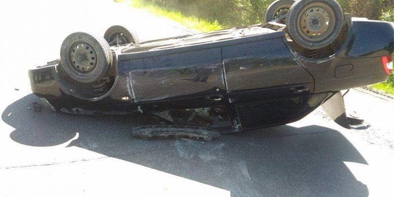 Сегодня ночью наБелом Яру перевернулся Хендай: шофёр умер