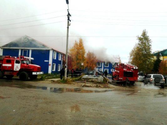 Многоквартирный дом со120 жителями зажегся вХМАО
