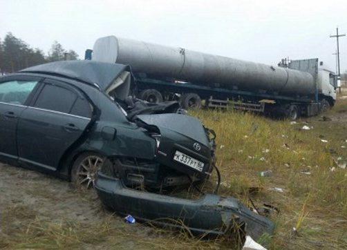 В 2-х ДТП натрассах вСургутском районе ХМАО погибли 5 человек