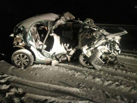 В прошлые выходные на трассах Югры погибли 4 человека